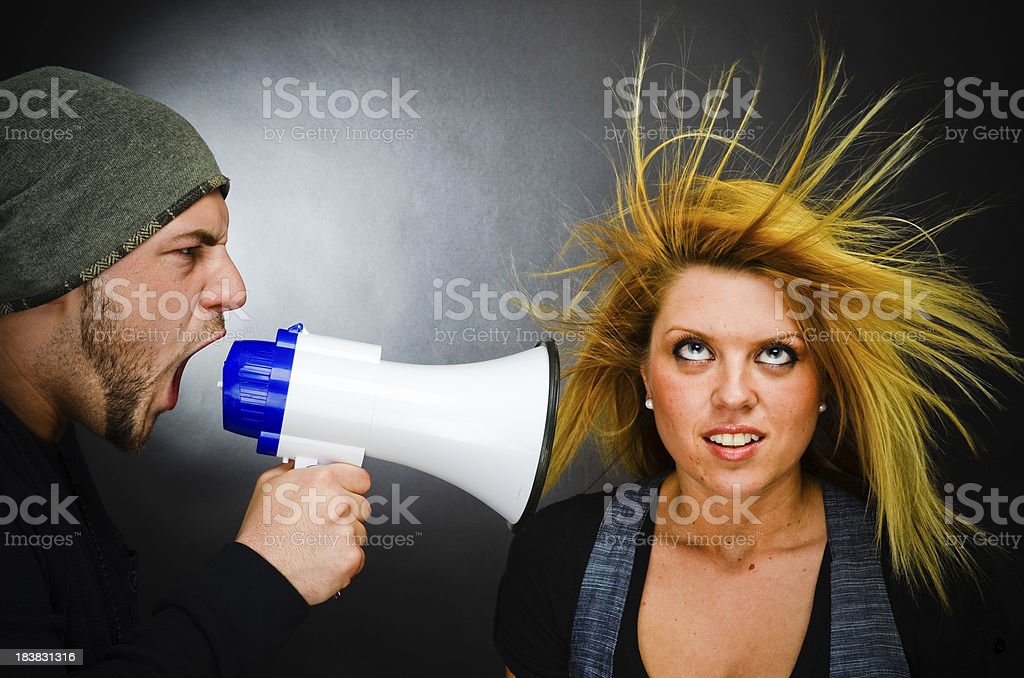 Relationship Difficulties Concept royalty-free stock photo