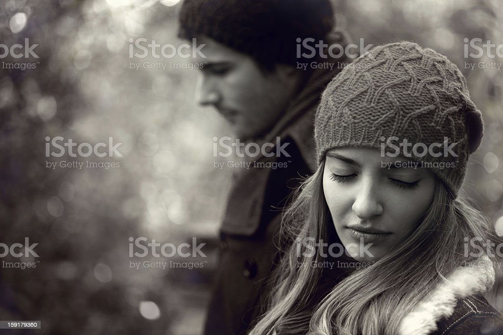 relationship difficulties royalty-free stock photo