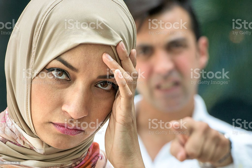 Relationship Difficulties stock photo