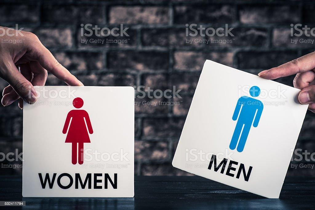 Relationship gender stock photo