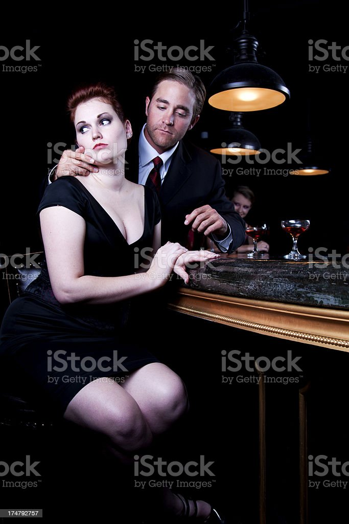 Relationship Troubles stock photo