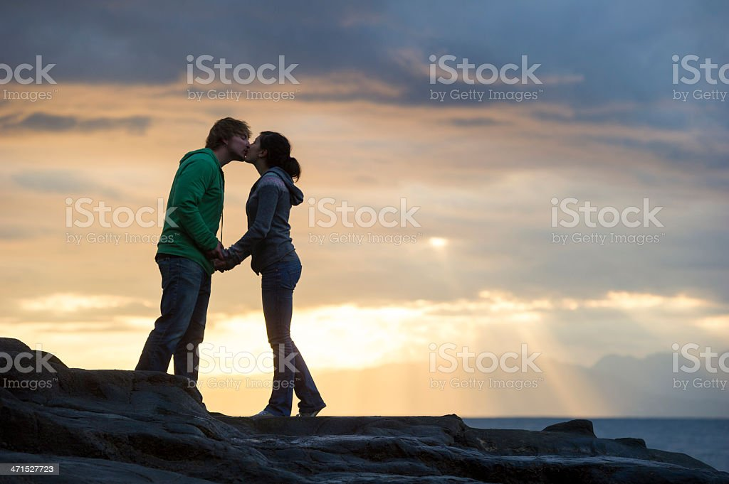 Relationship Victory stock photo