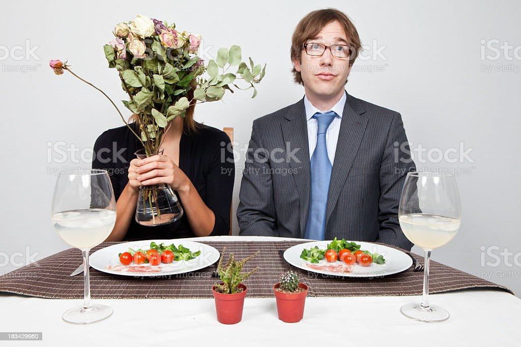Relationship vs Business royalty-free stock photo