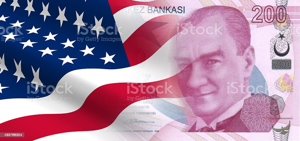 Relationships between the United States and Turkey stock photo