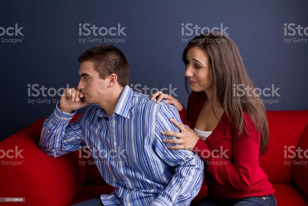 Relationships troubles royalty-free stock photo