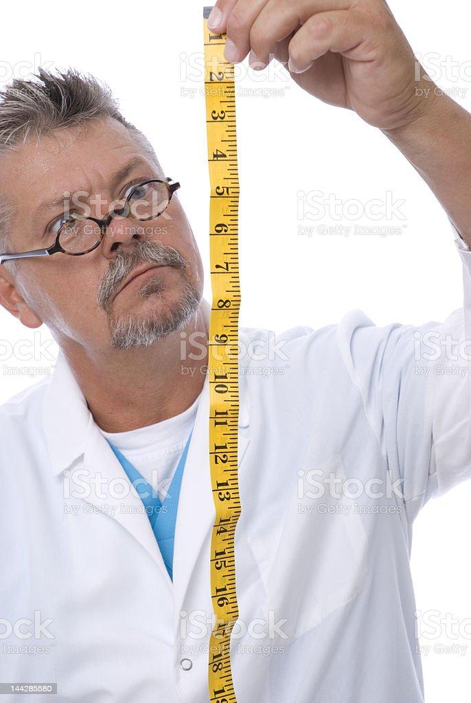 Relative Measurement stock photo