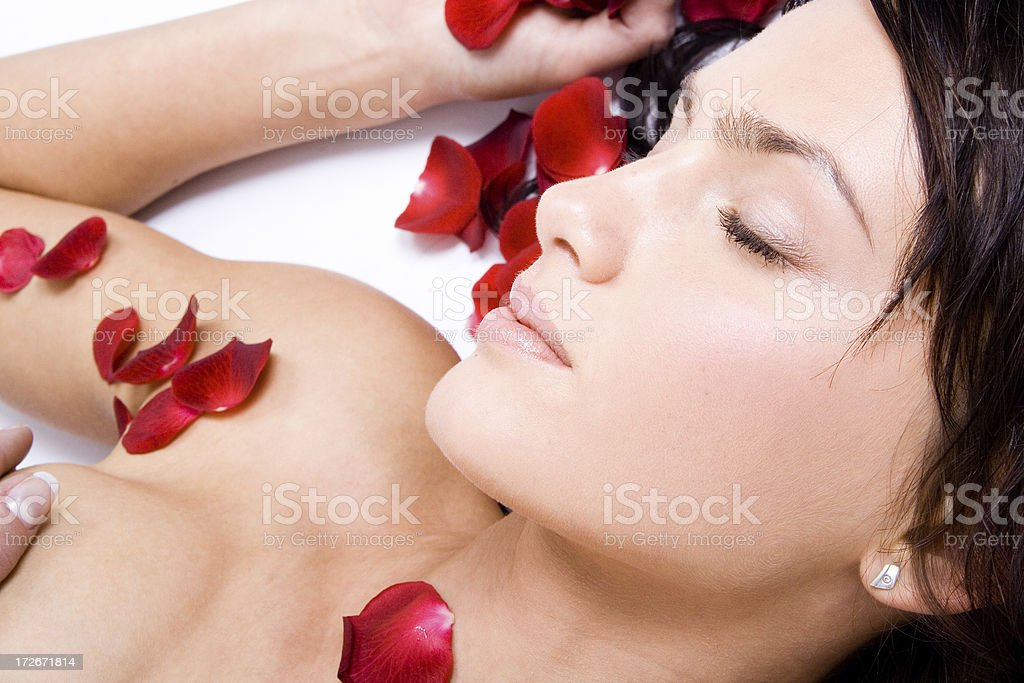 Relax and Beauty royalty-free stock photo
