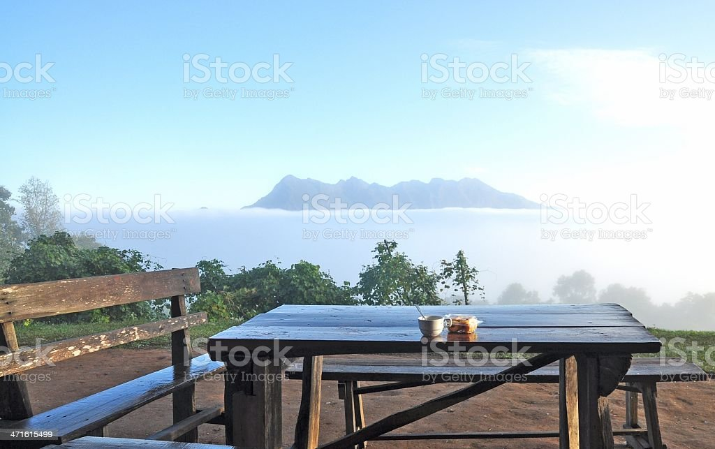 relax and feeling calm royalty-free stock photo