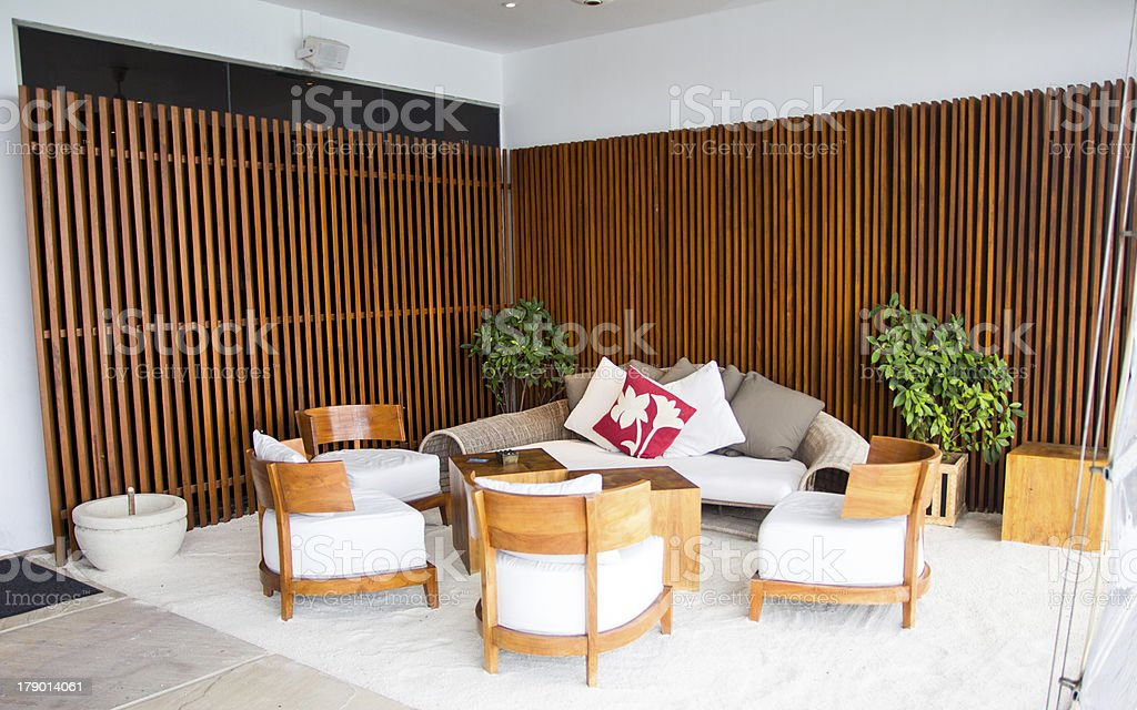 Relax area royalty-free stock photo
