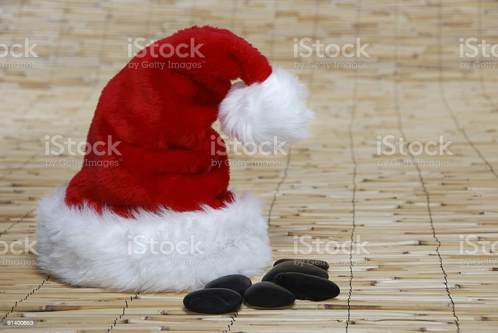 Relax at Christmas royalty-free stock photo