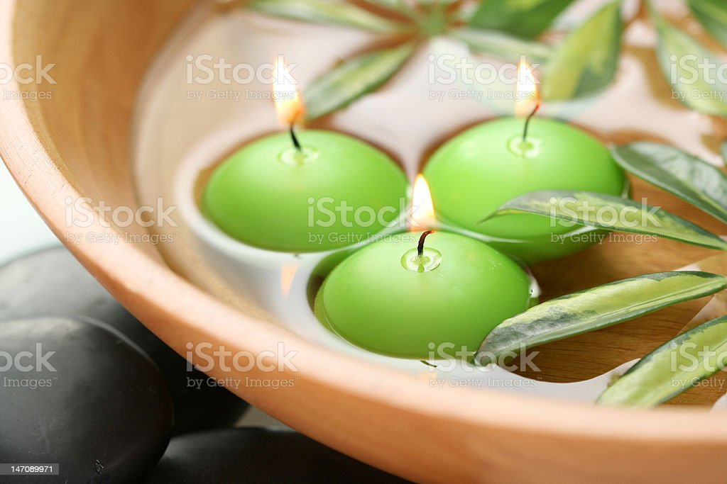 relax - beauty treatment stock photo