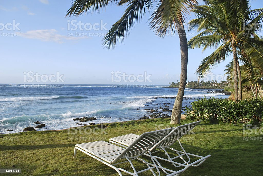 Relax in Maui royalty-free stock photo
