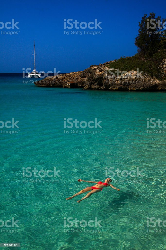 Relax in the Caribben stock photo