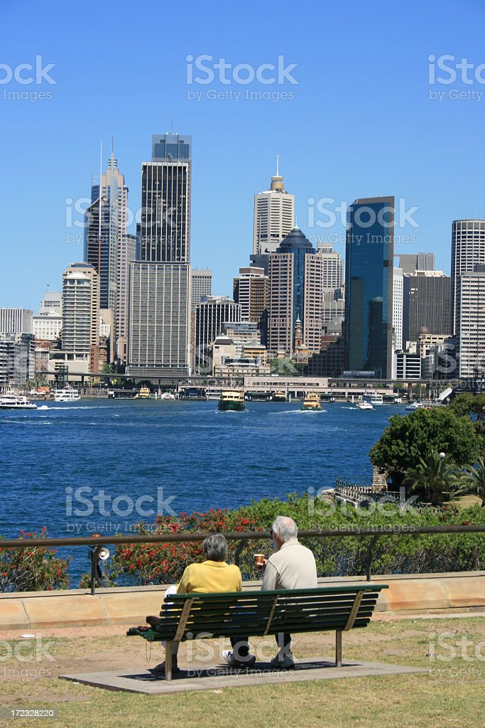 Relax in The City royalty-free stock photo