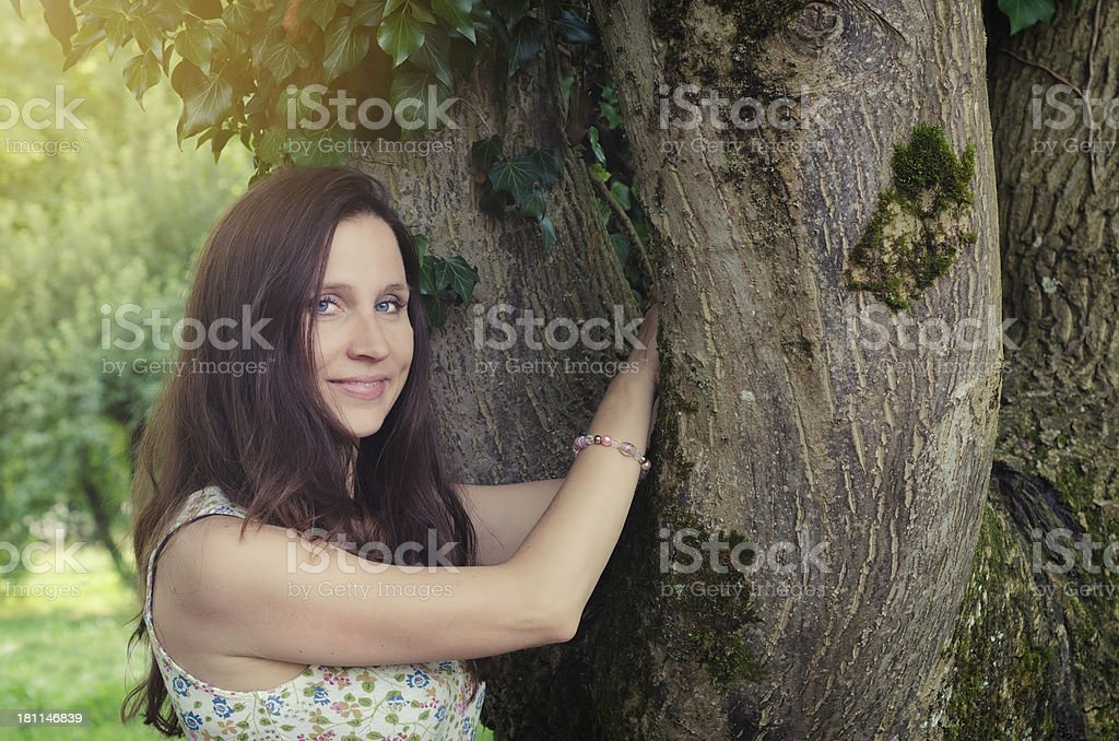 relax in the nature royalty-free stock photo