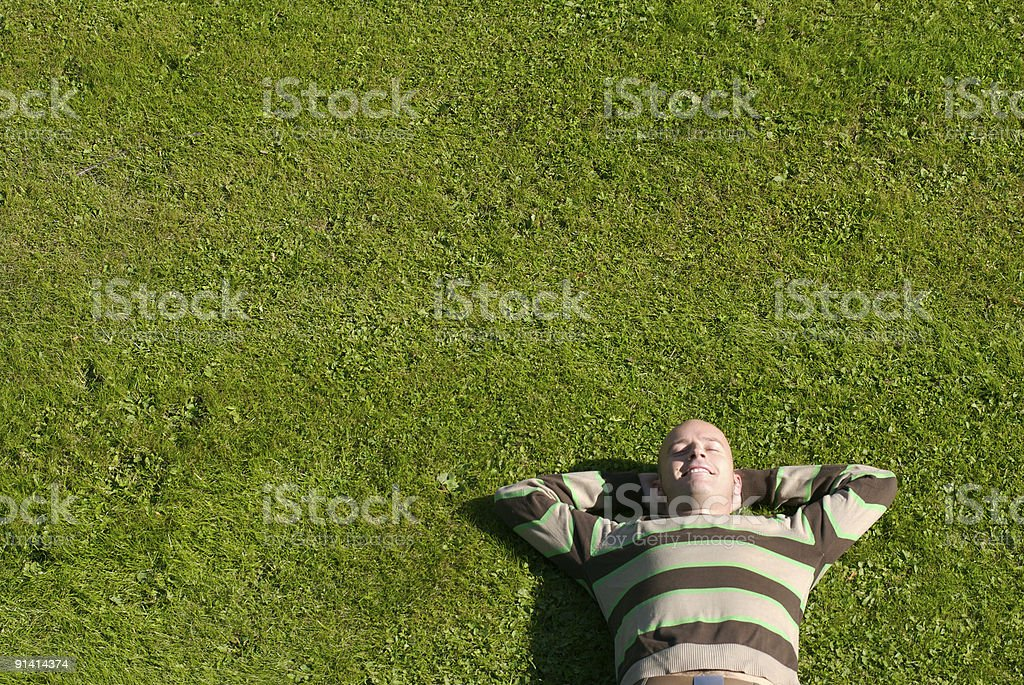 Relax royalty-free stock photo