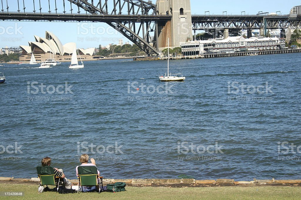 Relax Sunday afternoon royalty-free stock photo
