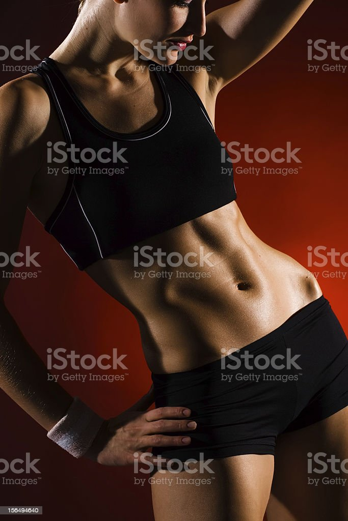 Relaxation after gym royalty-free stock photo