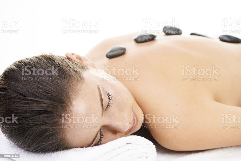 Relaxation at last royalty-free stock photo