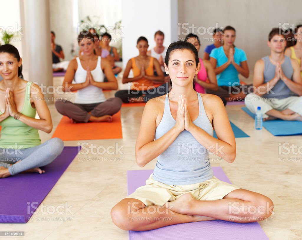 Relaxation for everyone royalty-free stock photo