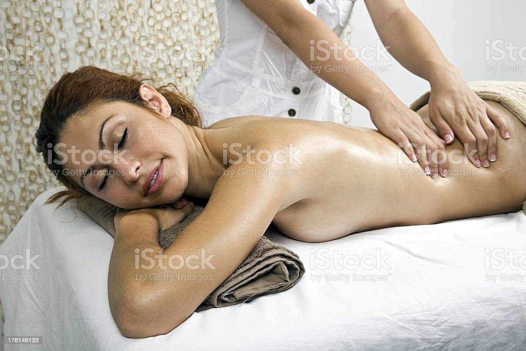 relaxation in luxury royalty-free stock photo