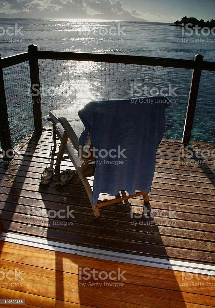 Relaxation in Paradise! stock photo