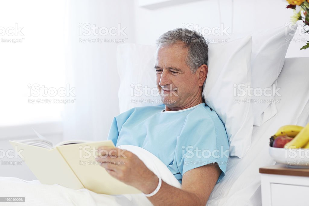 Relaxation is important for a full recovery royalty-free stock photo