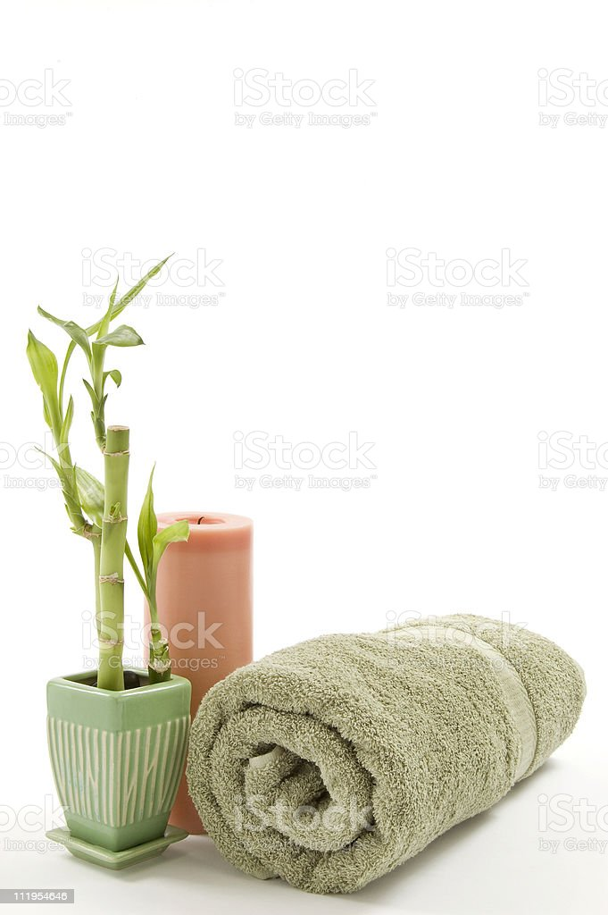Relaxation Items royalty-free stock photo