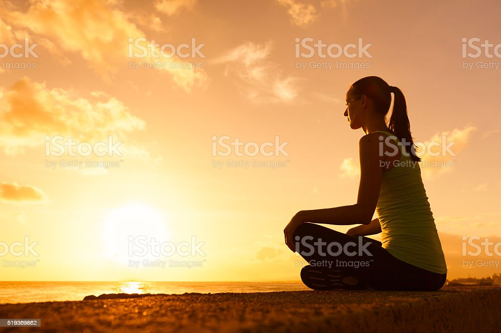Relaxation moment stock photo