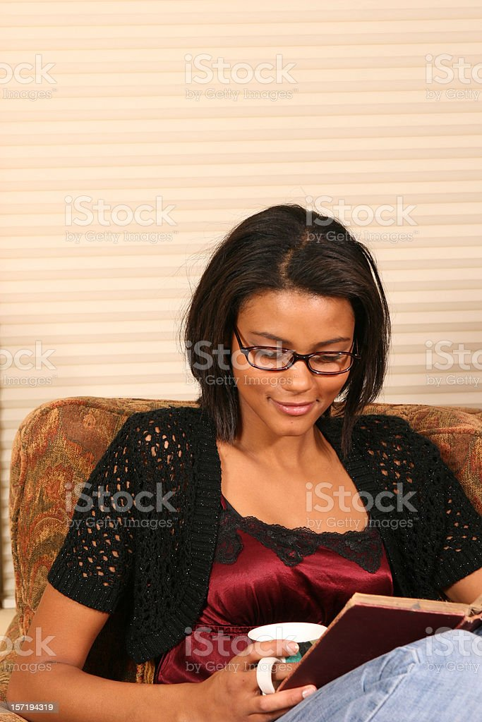 Relaxed and Happy royalty-free stock photo