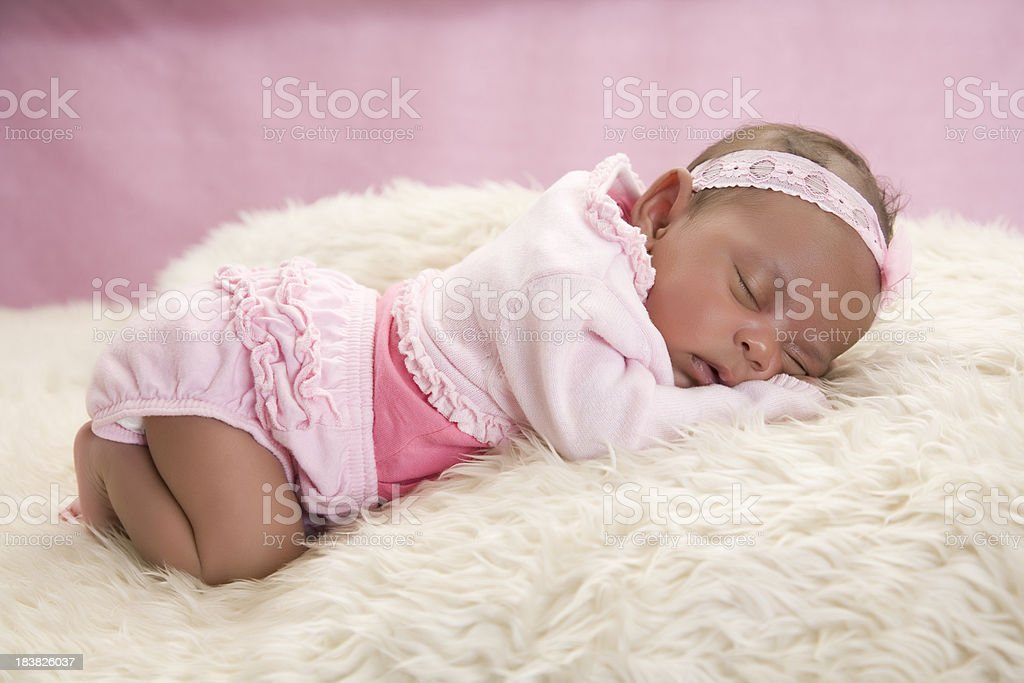 Relaxed Baby stock photo