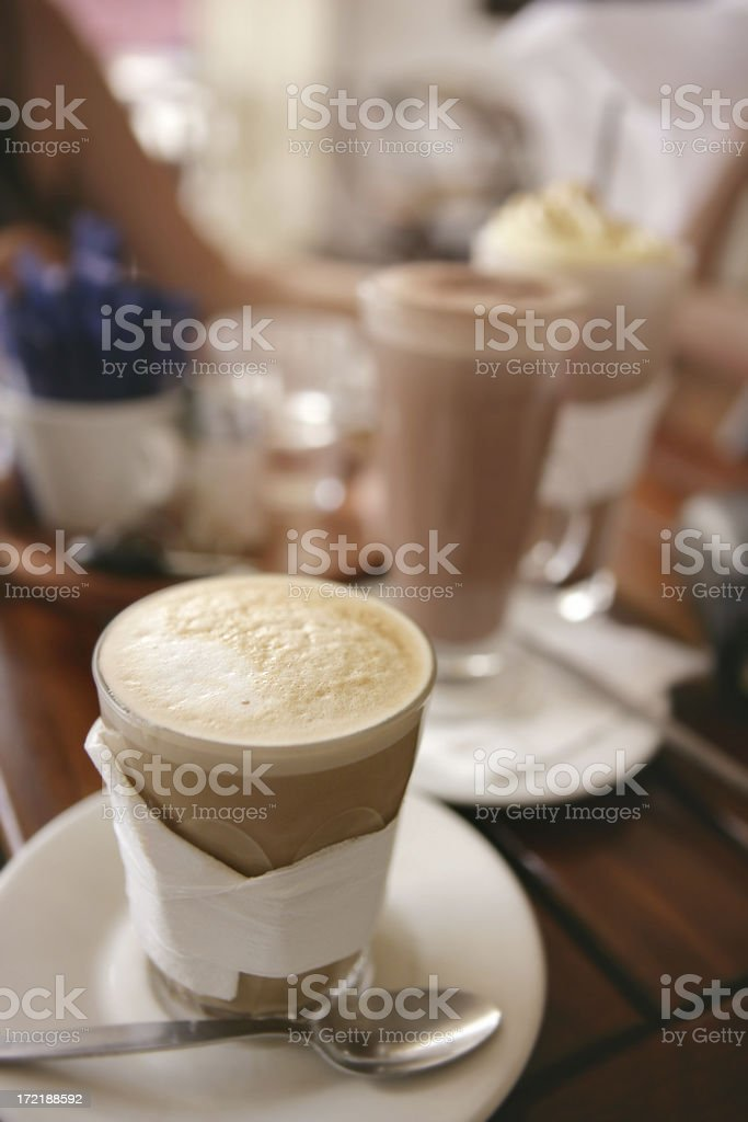 Relaxed Coffee royalty-free stock photo