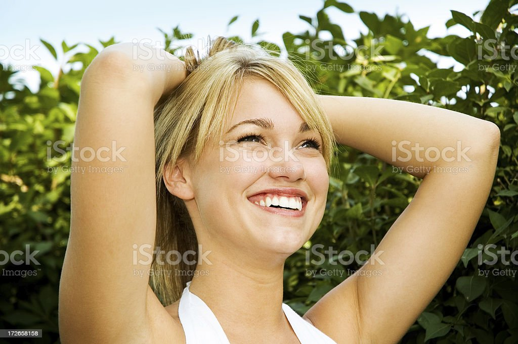 Relaxed Enjoyment royalty-free stock photo