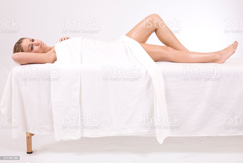 Relaxed Female royalty-free stock photo