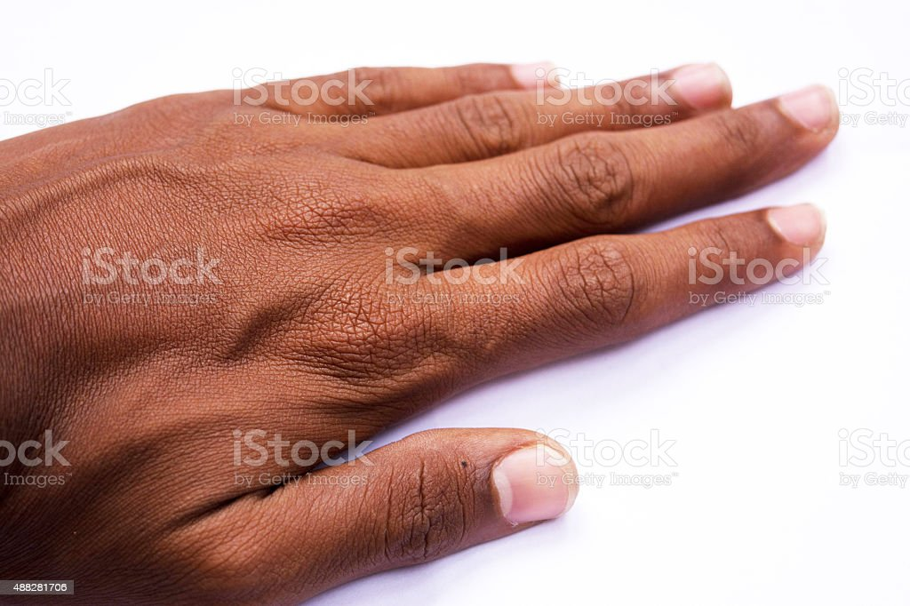 relaxed Hand stock photo
