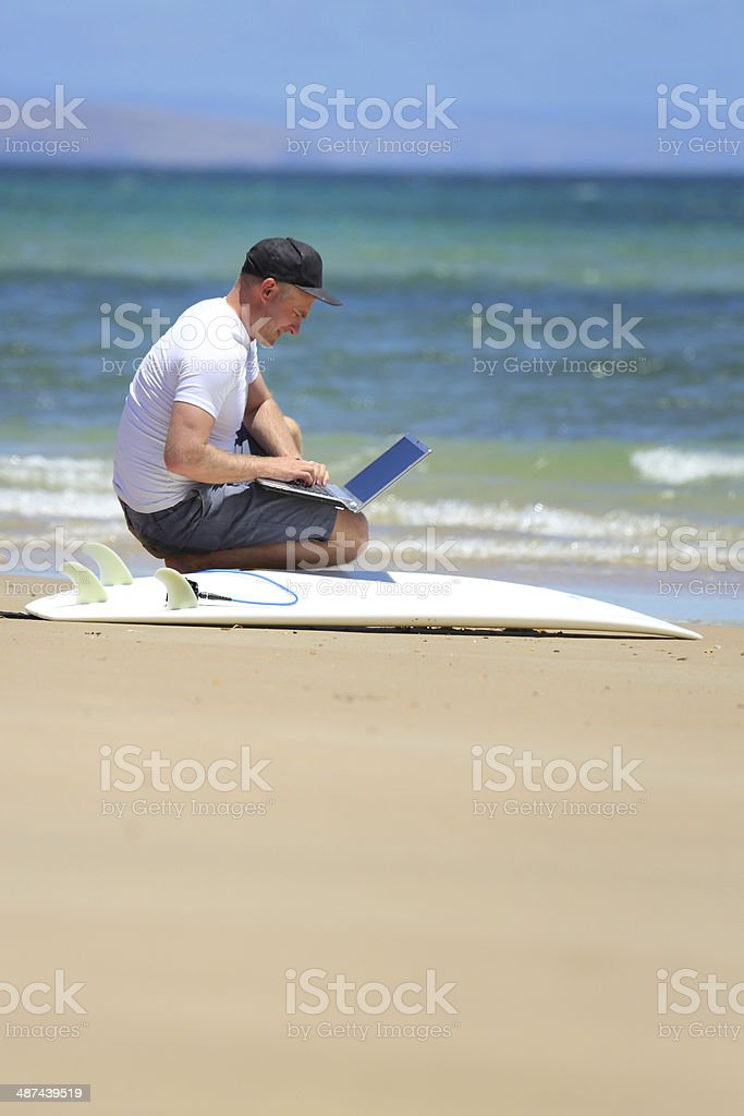 Relaxed Work Environment stock photo