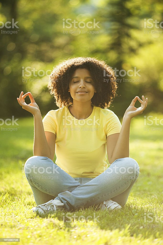 Relaxing afternoon royalty-free stock photo