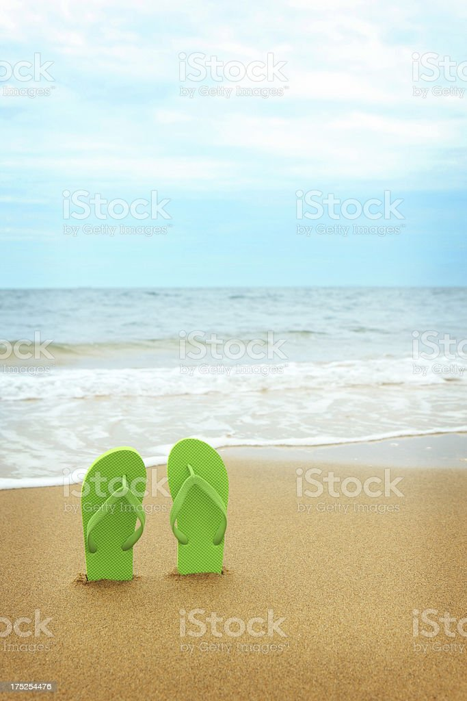 Relaxing Beach royalty-free stock photo