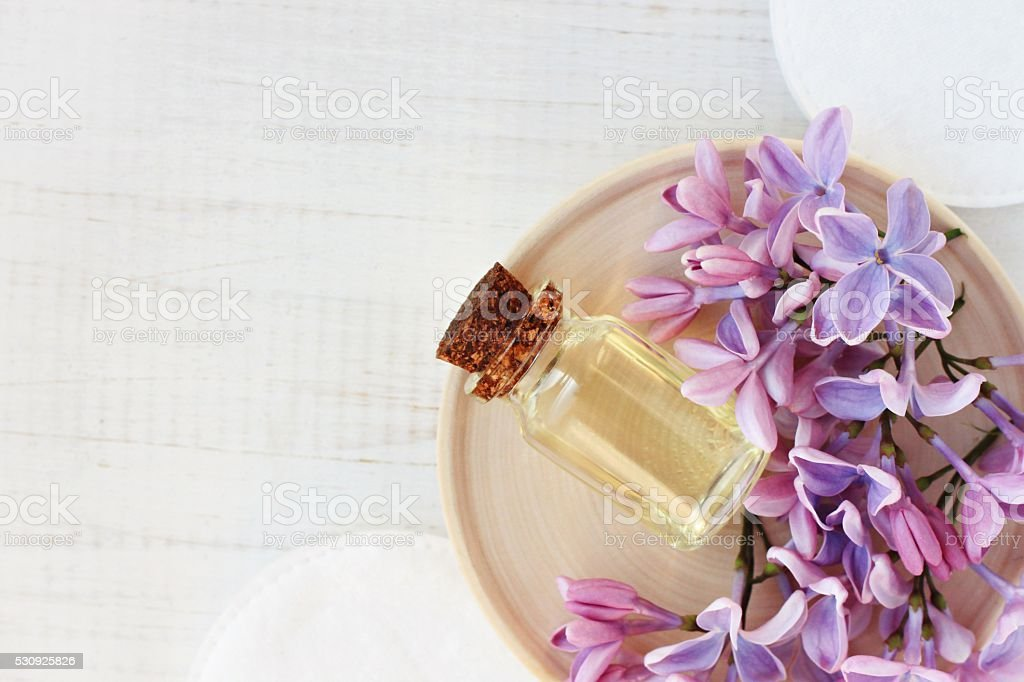 Relaxing essential oil stock photo