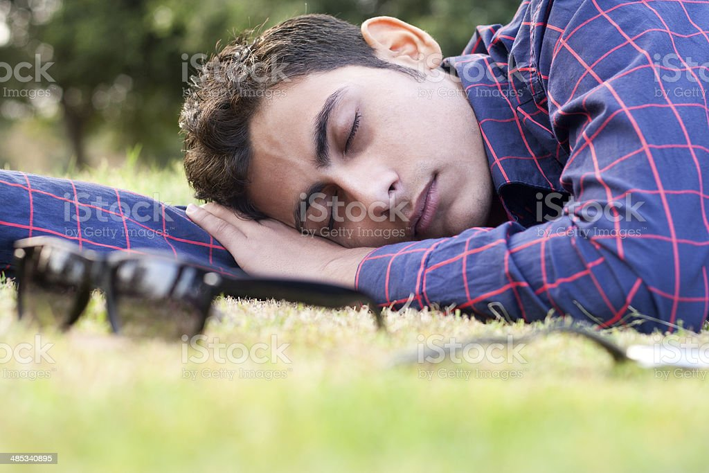 Relaxing in the Park royalty-free stock photo