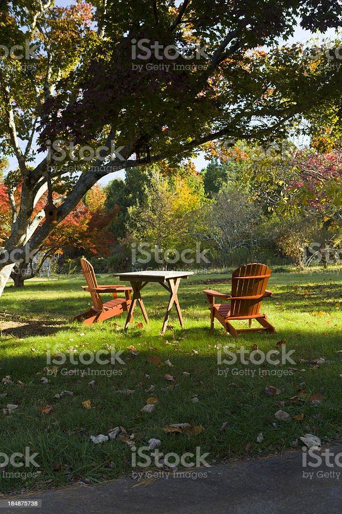 Relaxing mountain scene. royalty-free stock photo