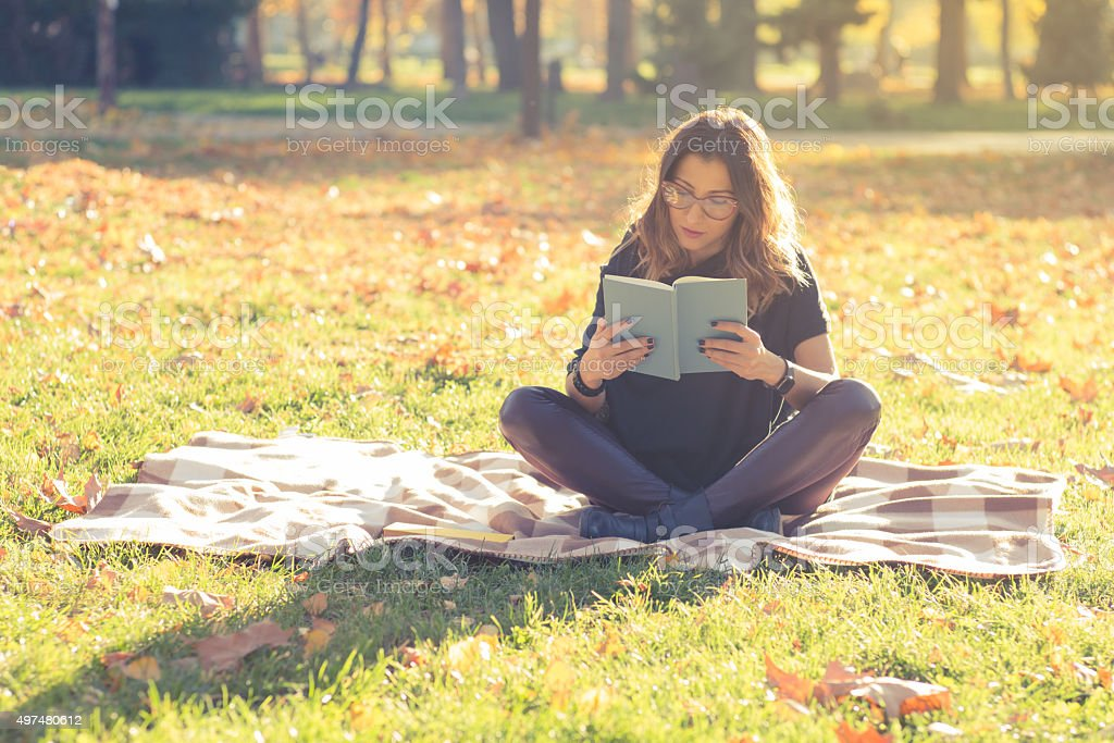Relaxing My Mind stock photo