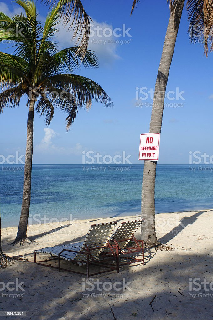 Relaxing on Beach royalty-free stock photo