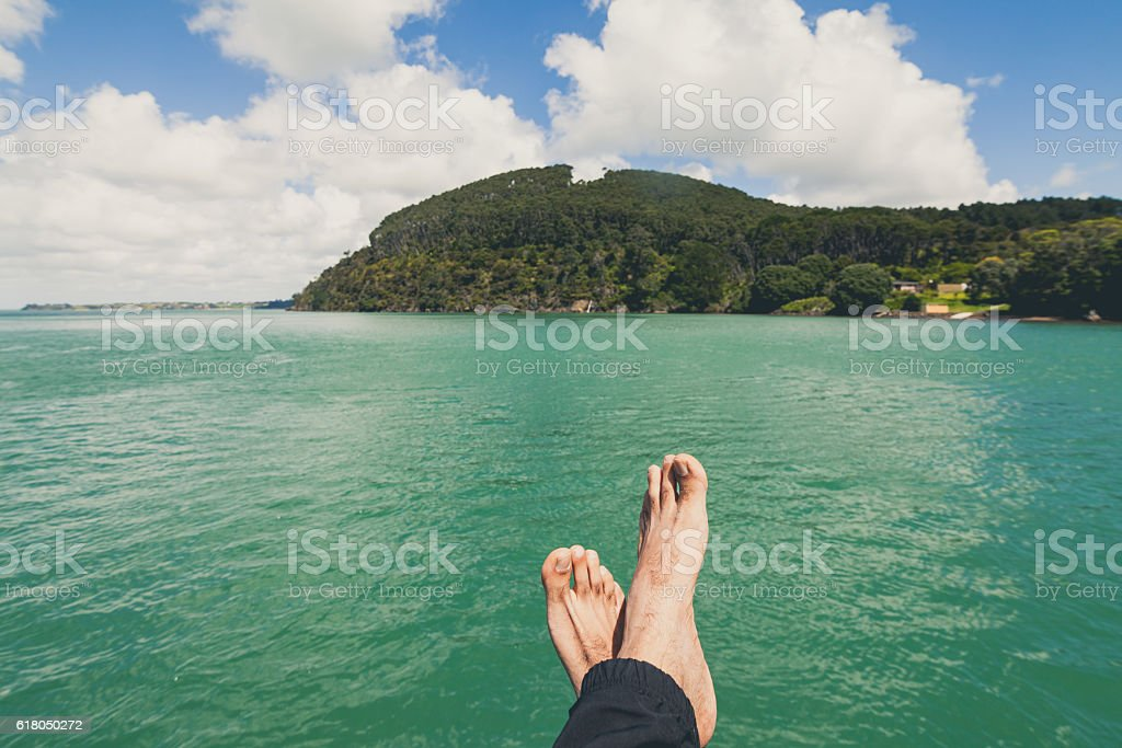 Relaxing stock photo