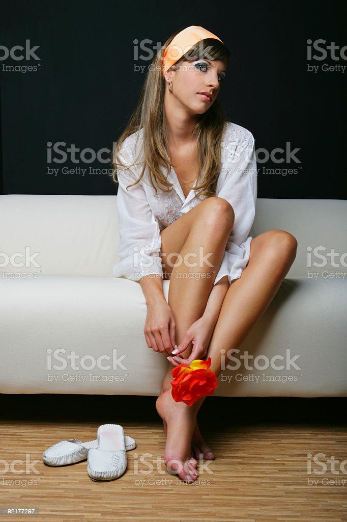 Relaxing stock photo