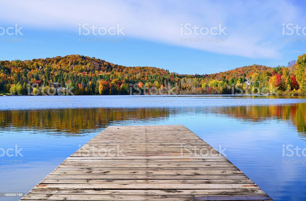 Relaxing place stock photo