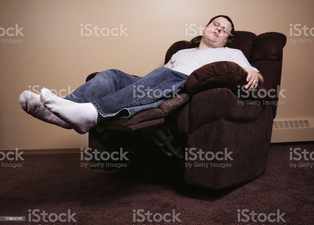 Relaxing Recliner stock photo