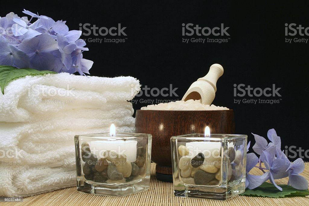Relaxing Spa Theme royalty-free stock photo