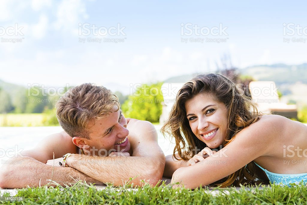 Relaxing Time during Holidays royalty-free stock photo