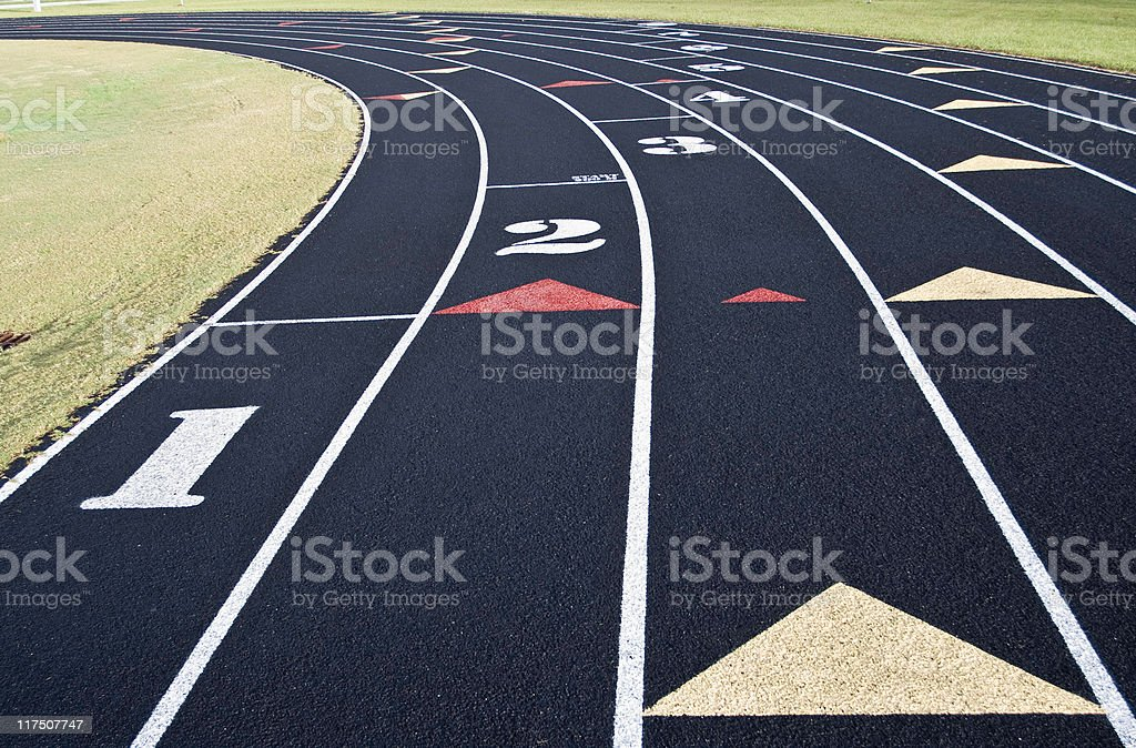 Relay Race royalty-free stock photo